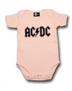 Body bebè AC/DC Logo Pink – body bebe rock