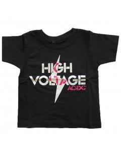 T-shirt bambini AC/DC High Voltage