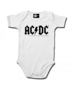 Body bebè AC/DC AC/DC White