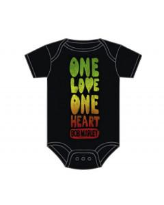 Body bebè Bob Marley One Love One Heart