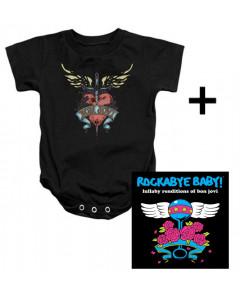 Idea regalo Body bebè Bon Jovi Heart & Rockabye Baby Bon Jovi