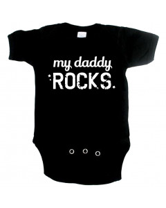 Body bebè Cool my daddy rocks