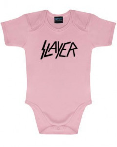 Body bebè Slayer Logo Pink