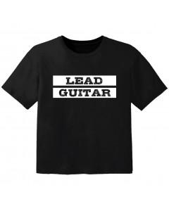 T-shirt Bambino Rock lead guitar