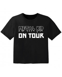 T-shirt Bambino Metal metal kid on tour