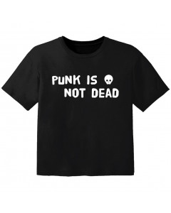 T-shirt Bambino Punk punk is not dead