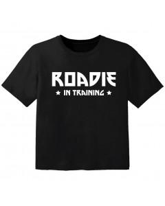 T-shirt Bambino Cool roadie in training