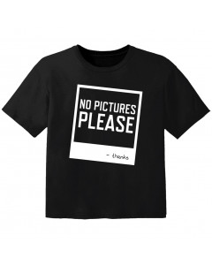 T-shirt Bambini Cool no pictures please