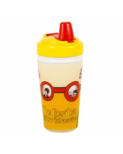 Bicchiere con beccuccio anti-goccia Yellow Submarine dei Beatles