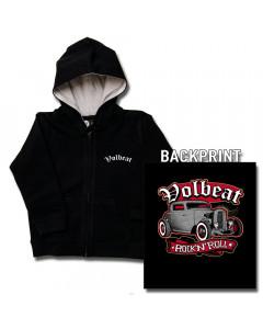 Maglia per bambini con cerniera/cappuccio Volbeat