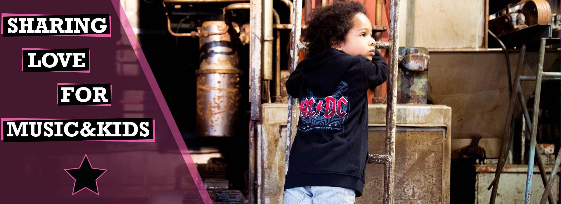 metal bambini t-shirt